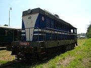 Lokomotivy a hnací vozidla mají svá jména - Hektor.