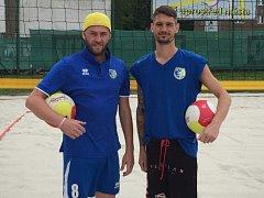 Ústecká beachvolejbalová dvojice se připravuje na první turnaj sezony.