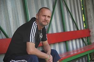 Bývalý fotbalista Jaroslav Židů.