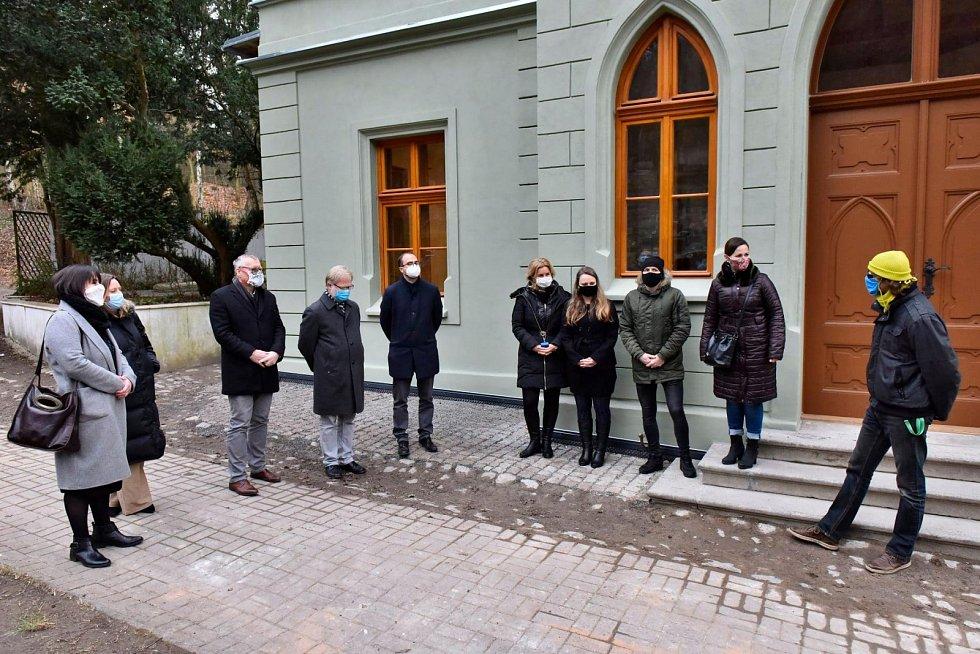 Slavnostní otevření kaple v Krásném Březně