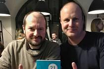 Paval Maškarinec (vlevo) a Lukáš Novotný