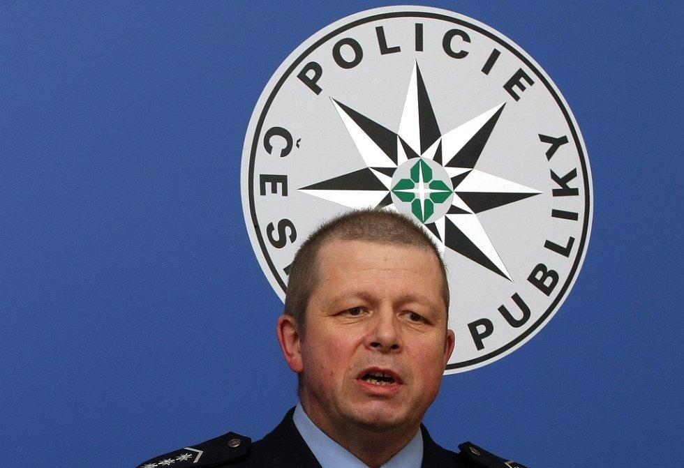 Ředitel severočeské policie Jiří Vorálek.