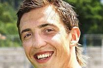 Fotbalový útočník Richard Veverka.