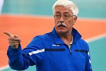 Miroslav Přikryl, generální manažer extraligového volejbalového klubu SKV Ústí nad Labem při utkání v Liberci.