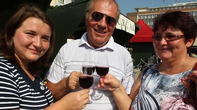 Slavnosti vína a burčáku.