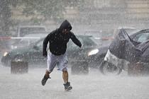 Přívalová déšť. Ilustrační foto