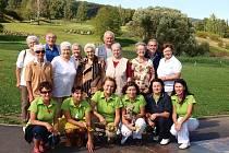 Golf rozdával radost seniorům.