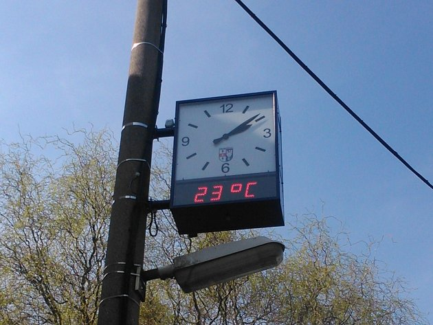 Úterý 5. dubna se na severu Čech vyznačovalo vysokými teplotami,