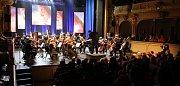 Koncert Štefana Margity v ústeckém divadle.