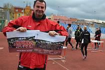 Atleti USK Provod Ústí nad Labem.
