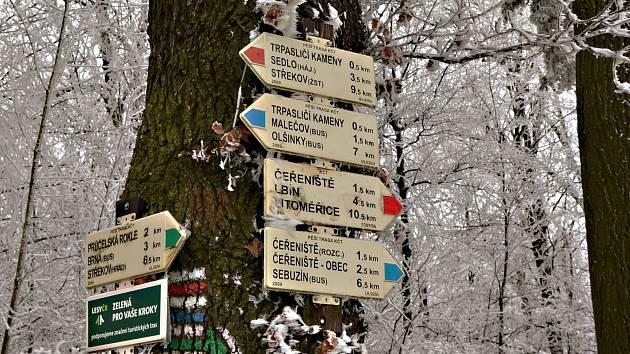 Sobotní procházka v kopcích vedla do Čeřeniště a na rozhlednu.