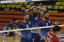Volejbalisté Ústí nad Labem v play-off končí.