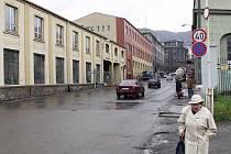 Žukovova ulice v Ústí nad Labem. Archivní foto
