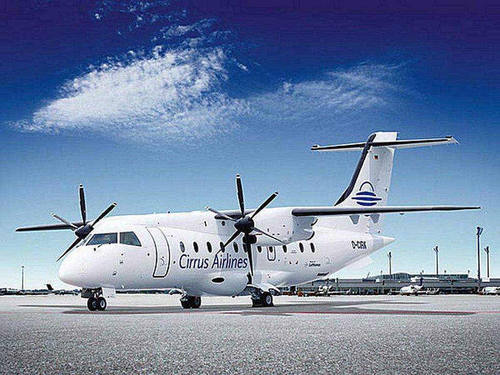Pro lety do Vídně umístí Cirrus Airlines v Drážďanech další letadlo typu Dornier 328.