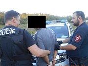 Ústečtí strážníci zadrželi celostátně hledaného muže z Mladé Boleslavi.