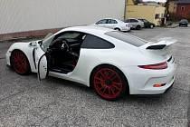 Porsche 911 GT 3, které dražil ústecký ÚZSVM