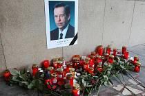 Na několika místech mohli Ústečané vzpomínat na bývalého prezidenta Václava Havla.