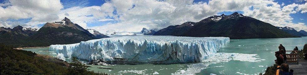 Ledovec Perito Moreno v argentinském národním parku Los Glaciares.