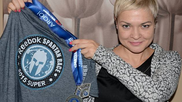 Alena Petrenko sní o Trifecte, trojkombinaci Spartan Race.