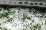 Na Šluknovsku ve čtvrtek 22. června padaly kroupy