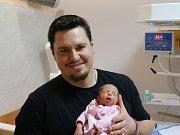 Amálie Fričová se narodila Kláře Lipšové z Litoměřic 22. ledna 2019 v 9.32 hod. Měřila 43 cm, vážila 1,73 kg