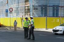 Soutěž regulovčíků dopravní policie v Ústí  nad Labem.