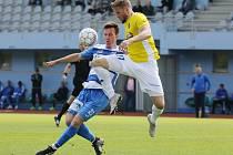 Fotbalový zápas Arma Ústí a Jihlava FNL 2018/2019.