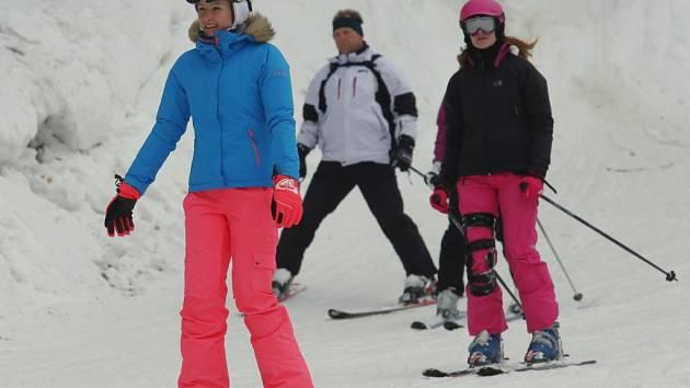 Podmínky pro lyžování v Telnici jsou výborné.