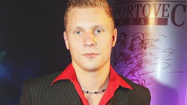 Boxer ústeckého SKP Sever Zdeněk Chládek.