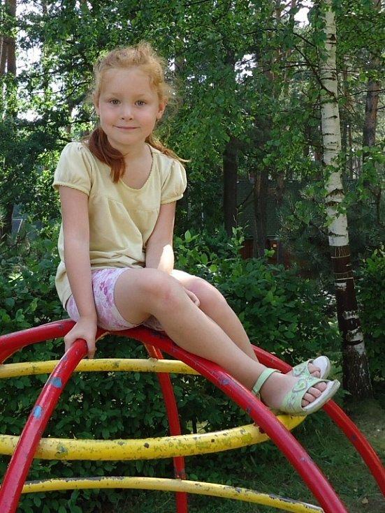 27. ELIŠKA HLAVSOVÁ, 5 let, Jirkov.
