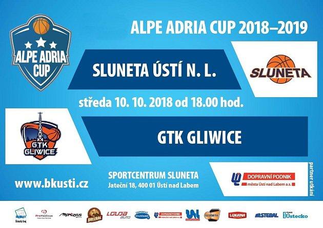 AAC: Sluneta Ústí nad Labem - GTK Gliwice