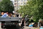 Likvidace černé skládky v Ústí nad Labem