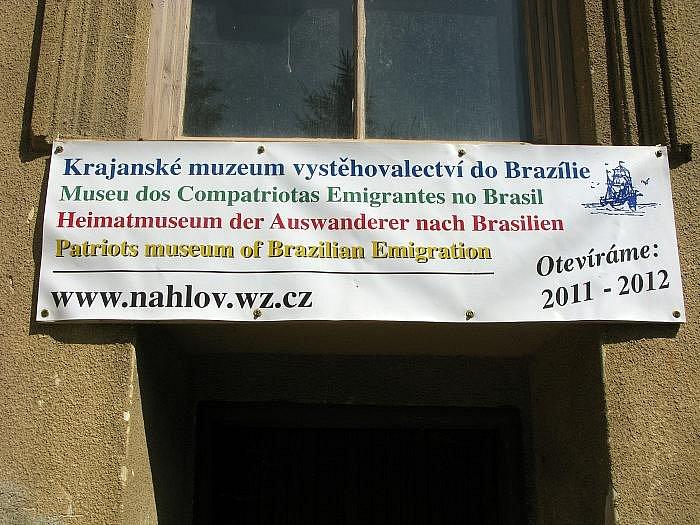 Kde je Krajanské muzeum vystěhovalectví do Brazílie? V malé vesničce Náhlov u Ralska.