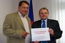 Jiří Paroubek a Miroslav Němec.