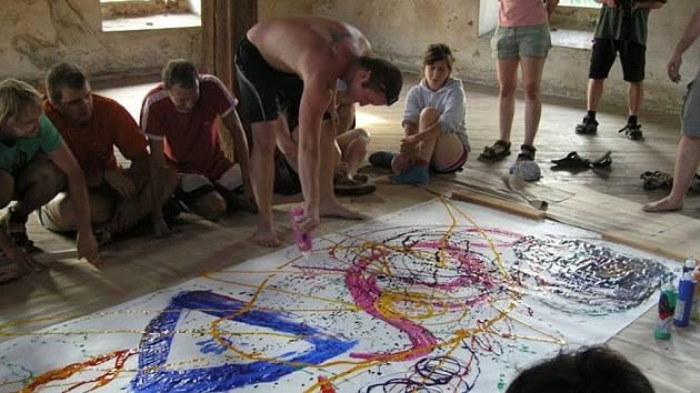V Kulturním centru Řehlovice vznikala díla v červenci loňského roku.