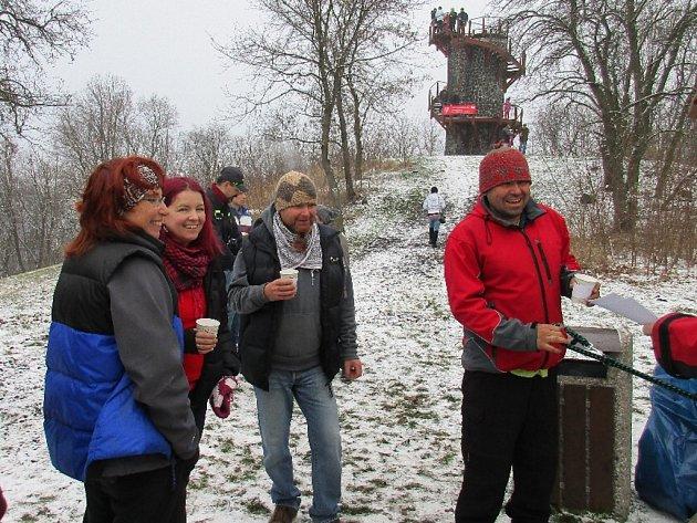 Výstupem na Malé Sedlo začal rok oslav 80 let Střekova.