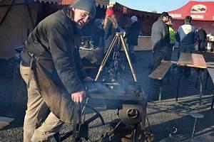 Běžci, milovníci starých řemesel a vánočních tradic přijeli do Malečova.