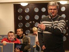 Rozprava před hlasováním o financování ústeckého sportu.