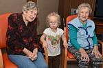 Setkání dětí a seniorů z Dobětic