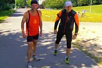 Ústecký vytrvalec běžel maratón.