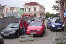 Ulice u Kina Hraničář