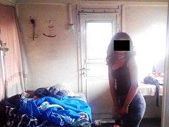 Devatenáctiletá Iveta N. si k noclehu vybrala odstavený vagon.