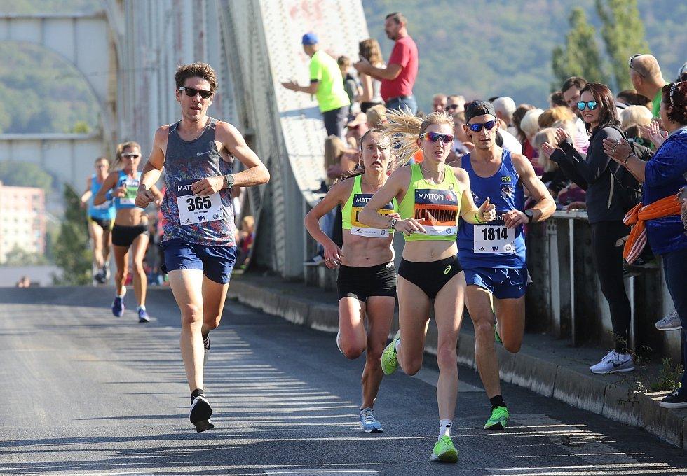 Půlmaraton v Ústí nad Labem v roce 2019