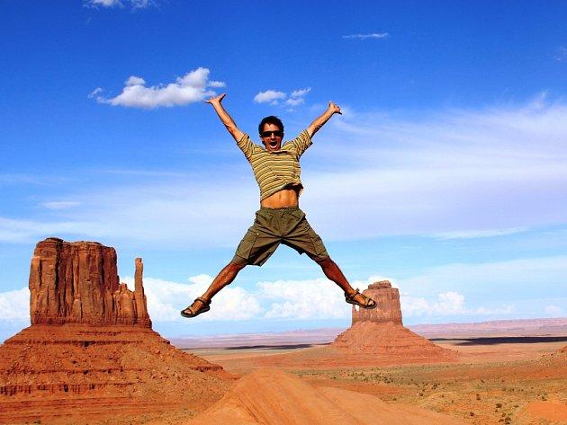 Petr Andrejkovič z Ústí nad Labem a Monument Valley ve státě Utah v USA.