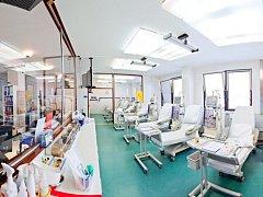 Dialyzační středisko NephroCare v Chomutově.