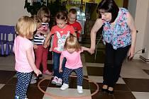 Dětské oslavy začaly v cukrárně v Doběticích.