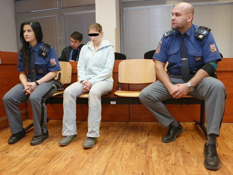 Z vraždy novorozence je obžalovaná jeho matka, osmadvacetiletá Marcela Brabcová.