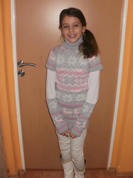 39. DANIELKA JÁNSKÁ, 9 let, Chomutov.