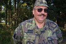 Velitel roty aktivních záloh Jindřich Černý.