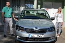 Nový automobil pro ústecký mobilní hospic.